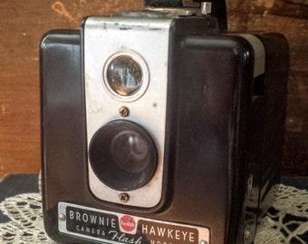 Vintage Camera Brownie Hawkeye Flash Model