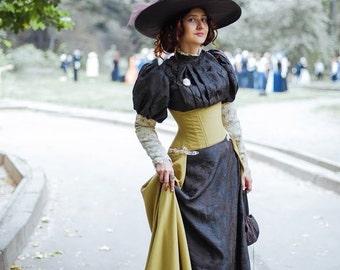 Victorian Edwardian dress, Reenactment Costume
