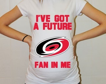 Carolina Hurricanes Baby Carolina Hurricanes Baby Boy Baby Girl Maternity Shirt Maternity Clothing Pregnancy New Baby Shower