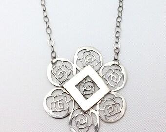 The rose flower