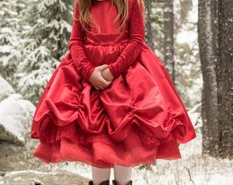 Fancy Red Dress - 5T