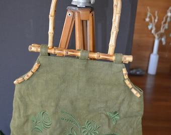 Artonatura Desinger bag with bamboo