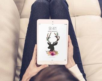 Dress your tech, iPad wallpaper, digital wallpaper, iPad screensaver, custom wallpaper, iPad background