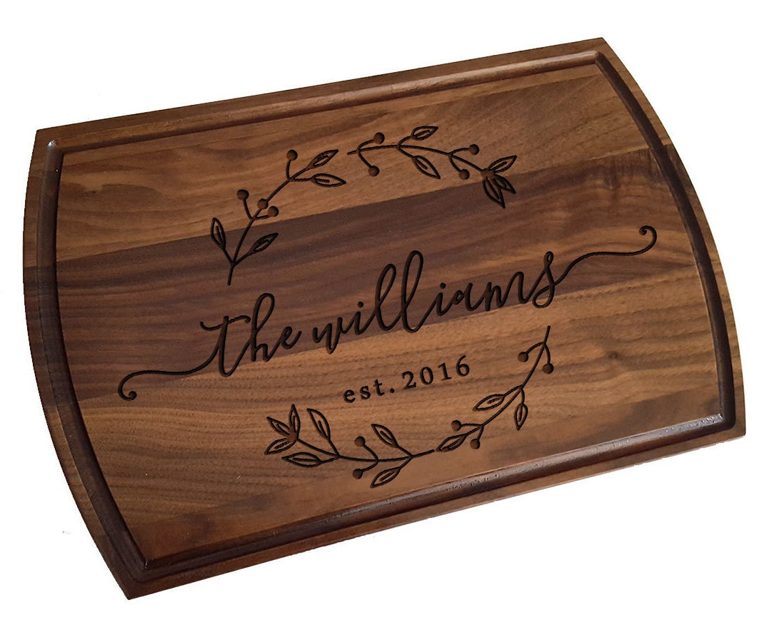 Personalized Cutting Boards ~ Custom cutting board personalized wedding