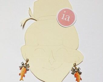 Little fish earrings !