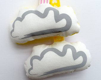 Clouds | Baby Sensory Toy, Baby Toy, Baby Rattle, Baby Shower Gift, Newborn Gift, Gifts for Babies