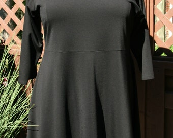 Plus size tunic or dress.  Available in woman's 3X, 4X, 5X, 6X