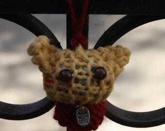 Amigurumi Orange Cat Ornament