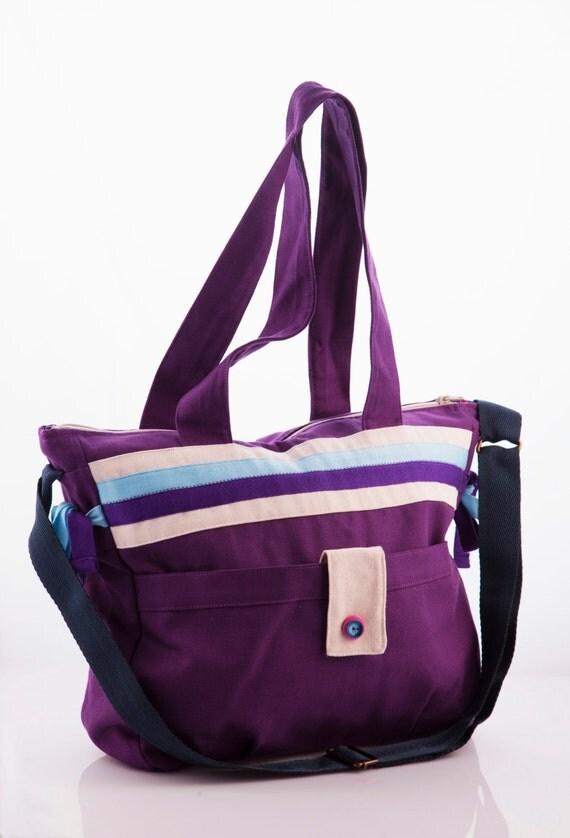 diaper bag canvas travel bag weekender bag by. Black Bedroom Furniture Sets. Home Design Ideas