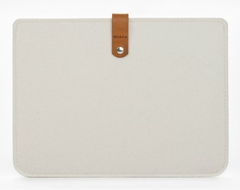 iPad Air Sleeve - iPad Air Case - iPad Cover - iPad Case - Felt Leather Case