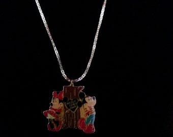 Mickey Loves Minnie Necklace