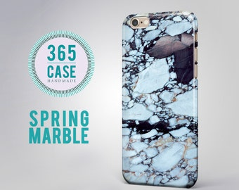 Spring Case iPhone 6s Case Blue Marble iPhone 6s Plus Case iPhone 5S Case Designers Case iPhone 5 Case s6 Phone Case s5 Phone Case Cover