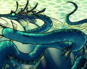 Tiny Sea Dragon