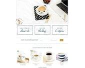 Wordpress Theme · Genesis Child Theme ·  Mobile Responsive · SEO · Ecommerce · Portfolio · Recipes · Blog · Custom Colors · Lifetime Support