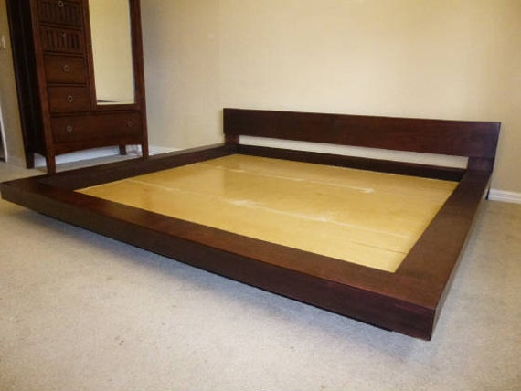 Asian Platform Beds Solid Wood