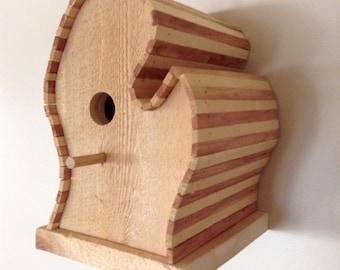Handcrafted Michigan Mitten Birdhouse