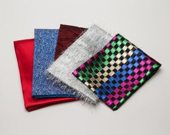 Reusable Fabric Gift Wrap Set