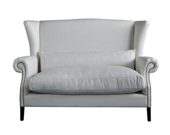 rex club pure white sofa