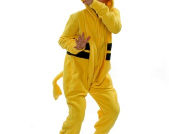 Kids Animal Onesie (Kigurumi - Cosplay) - Yellow Thing (Pikachu inspired)