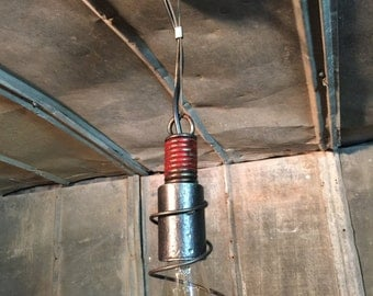 up cycled pendant light