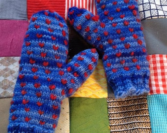 Thrummed Mittens - Size Ladies Small / Medium or Child Extra Large