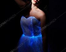 ExtraVaganza LED light emitting party Lace Dress