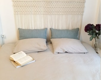 Large macrame wall hanging, macrame headboard, Home Decor tapestry, Bohomian home decor, boho wall art, Wedding decor