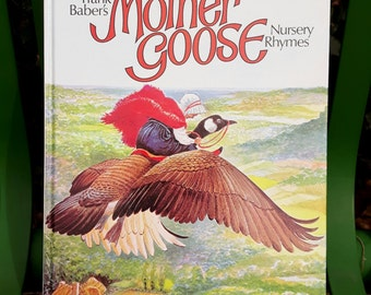 Frank Baber's Mother Goose Nursery Rhymes Hardback 1977