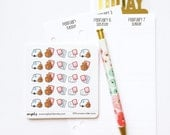 CLOSING SALE 40% OFF - 005 planner stickers : process order icons (etsy shop / pack order)