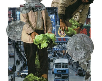 lettuce go then, you and I (A3 print)