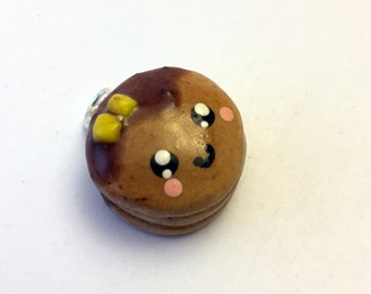 Pancake Charm - Polymer Clay