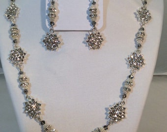Necklace and Earrings - Star Bright