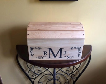 Wedding Money Box, Wedding Card Box