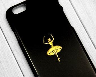 Ballet iPhone 7 Case iPhone 7 Plus Dancer Ballerina iPhone 6s Case, Ballet iPhone 6s, Ballet Dancer iPhone 6 Plus , Vintage iPhone 6s Plus