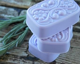 Blackberry Sage Soap . Homemade Soap . Shea Butter Soap . Berry Soap . Handmade Soap . Gift for Women . Gift for Mom . Birthday Gift
