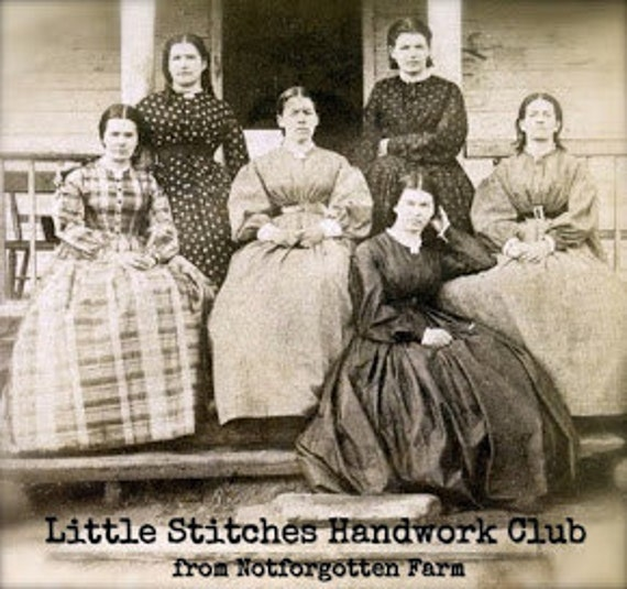1 full year membership for Little Stitches Handwork Club from Notforgotten Farm -