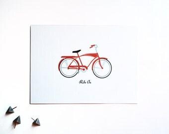 bike art, bike poster, bike print, bicycle art, bicycle wall art, bicycle print, retro bikes, retro poster, biking gifts,