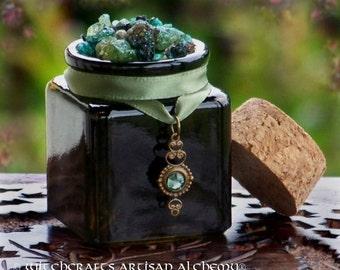 "DANU Old European ""Celtic Lights""™ Ancient Black Forest Danube River Valley Earth Mother Goddess Incense with Swarovski Crystal Drop"