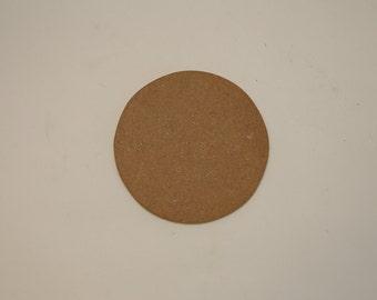 Round Flat Wood