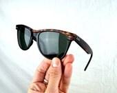 Vintage Ray Ban Tortoise Shell Wayfarer II Sunglasses