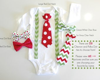 Sibling Christmas Outfits. Holiday Clothes. Newborn boy