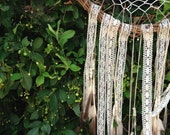Feather and Lace Dream Catcher