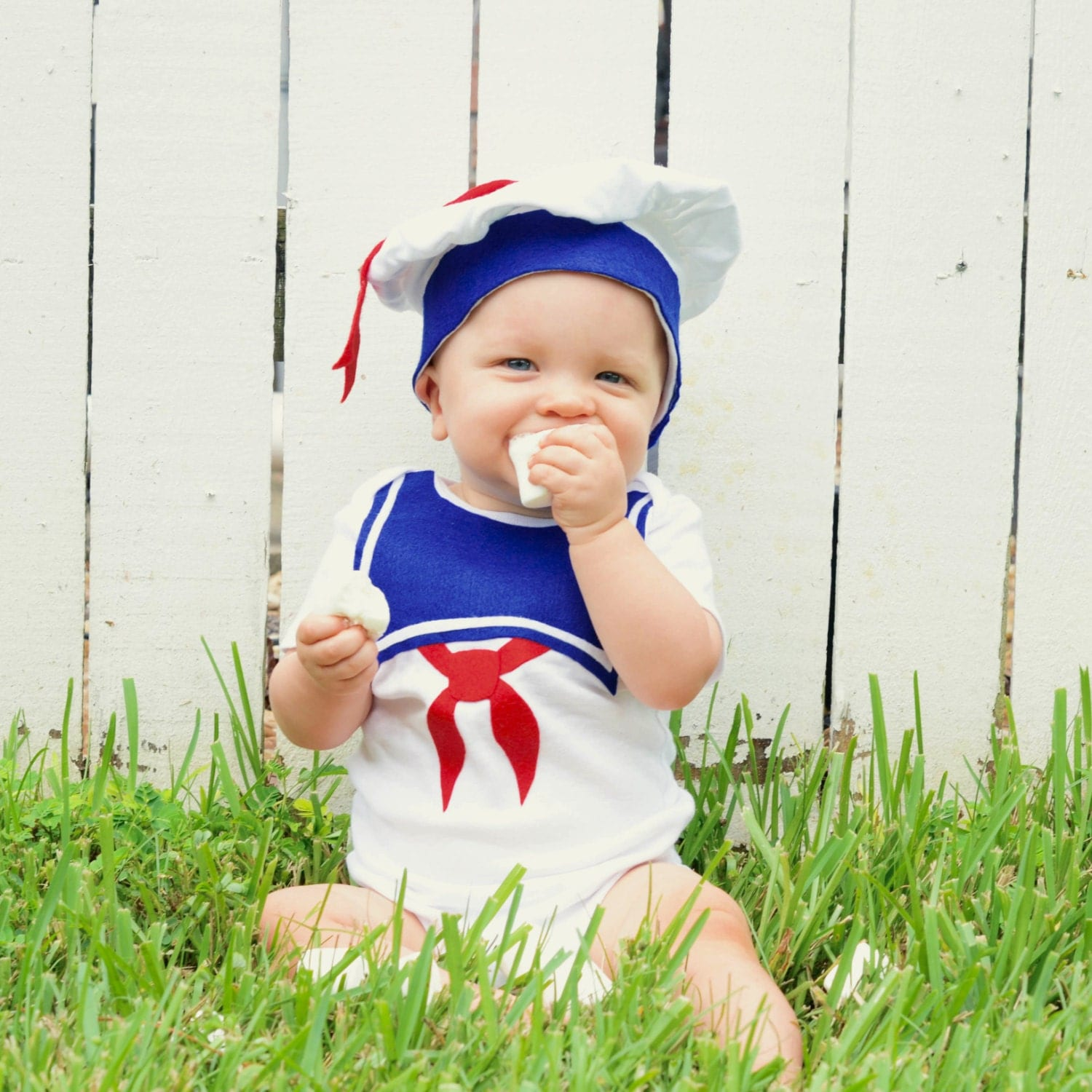 Fourth Of July 4Th Stay Puft Baby Costume / Toddler