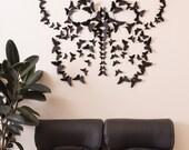 Black 3D Butterfly Wall Art