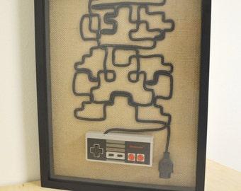 Nintendo Wall Art nintendo nes zapper wall art shadow box pew pew pew