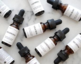 Organic Face Serum - Travel Size, Natural Face Oil, Vegan Skincare