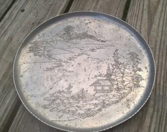 Decorative Aluminum Tray