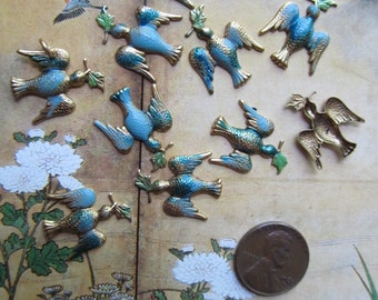 5 Small Bluebirds