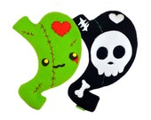 Zombie Skeleton Skull Weight Loss Surgery plush toy Gastric Sleeve Bypass Lapband RNY VGS WLS bones