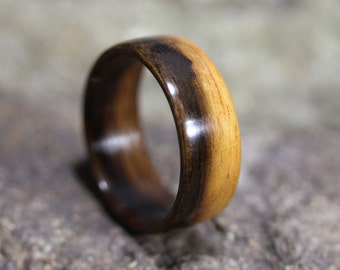 Ironwood Bentwood Ring - Wooden Ring - And We Plant A Tree:)